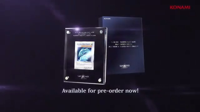 THIS IS NOT A DRILL! The amazing Platinum Blue-Eyes White Dragon is available fo...