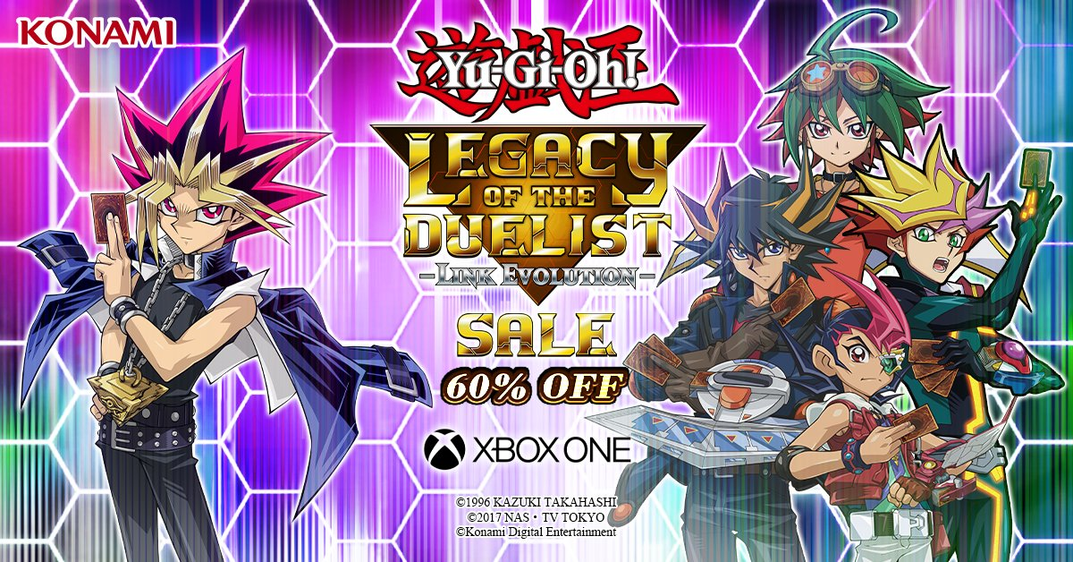 The @Xbox E3 Deals Unlocked Sale is on now! Get Yu-Gi-Oh! Legacy of the Duelist:...