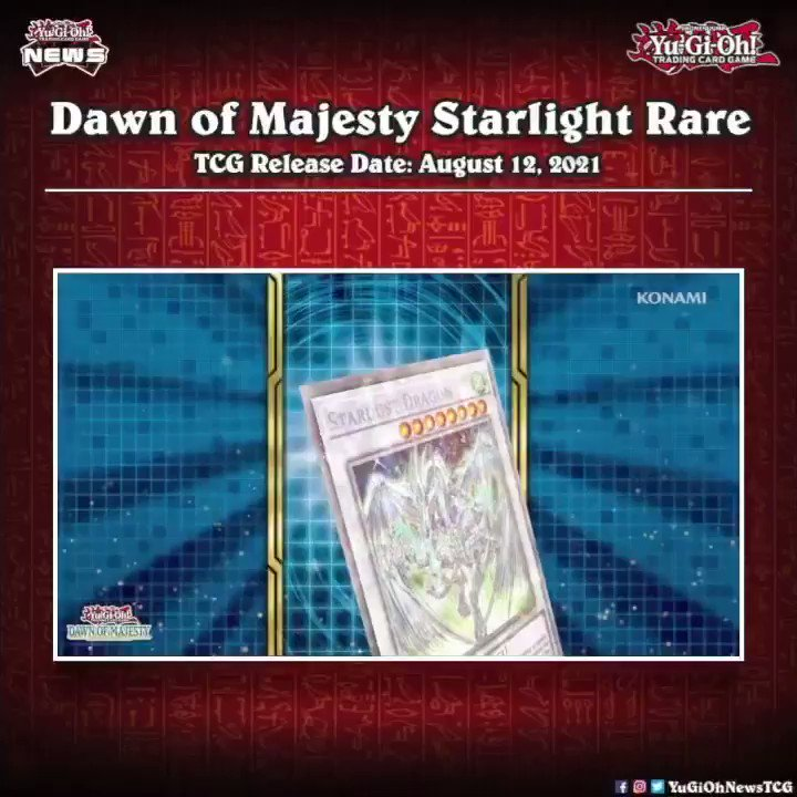 ❰𝗗𝗮𝘄𝗻 𝗼𝗳 𝗠𝗮𝗷𝗲𝘀𝘁𝘆❱ We knew it will happen and now it's officialStardust Dragon wi...