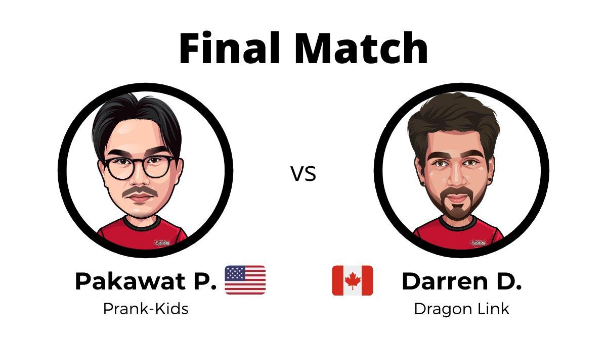 The Yu-Gi-Oh! TCG North America Remote Duel YCS Finals are set! Pakawat P. (Pran...