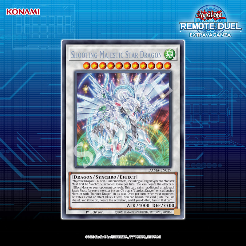 Shooting Majestic Star Dragon from Dawn of Majesty is the Grand Prize for this w...