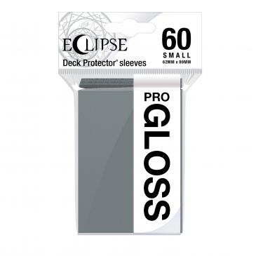 PRO-Gloss Eclipse Small Deck Protector Sleeves - Smoke Grey (60-Pack)