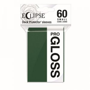 PRO-Gloss Eclipse Small Deck Protector Sleeves - Forest Green (60-Pack)