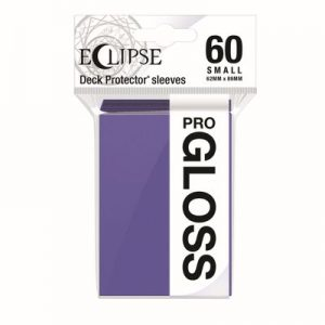 PRO-Gloss Eclipse Small Deck Protector Sleeves - Royal Purple (60-Pack)