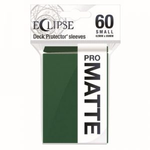 PRO-Matte Eclipse Small Deck Protector Sleeves - Forest Green (60-Pack)