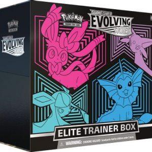 Pokemon SS7 Evolving Skies Elite Trainer Box [Glaceon/Vaporeon/Sylveon/Espeon]