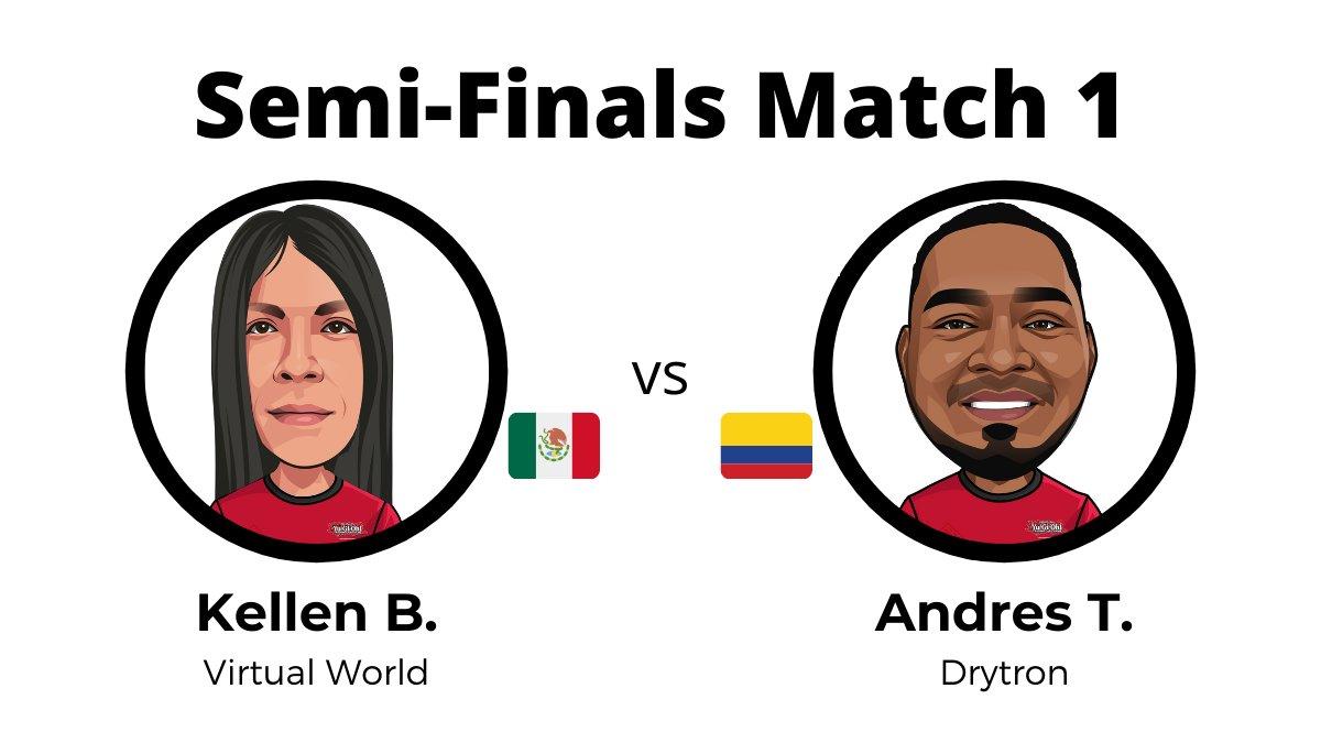 The first Semi-Final Match of the Latin America #YuGiOhTCG #RemoteDuel Invitatio...