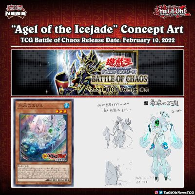 """❰𝗕𝗮𝘁𝘁𝗹𝗲 𝗼𝗳 𝗖𝗵𝗮𝗼𝘀❱ Check out the concept art for the new Icejade archetype - """"Age..."""