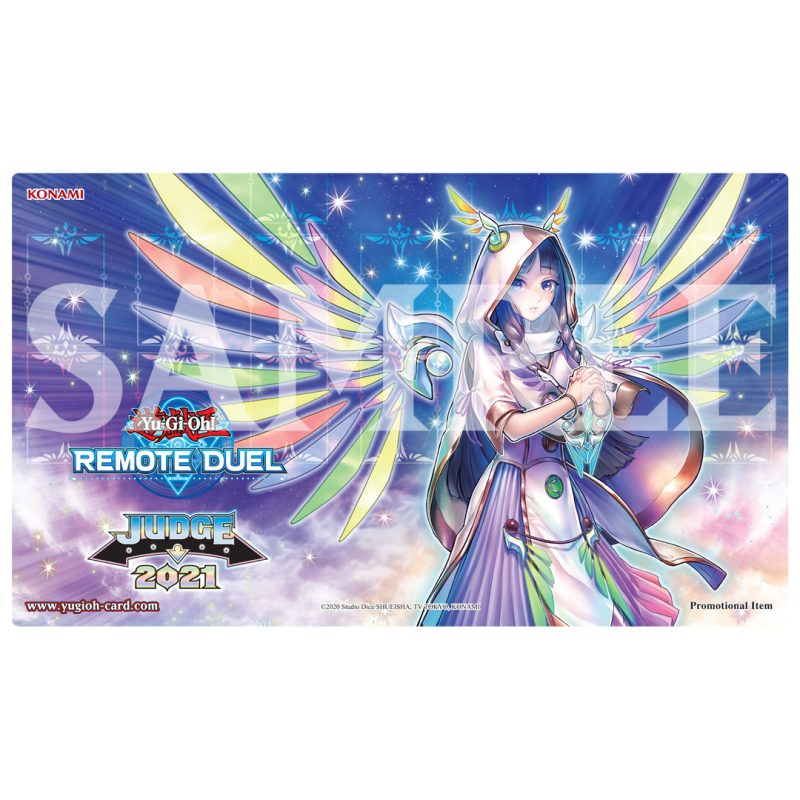 Divine rewards are coming with a new 2021 Remote Duel Judge Reward Game Mat feat...