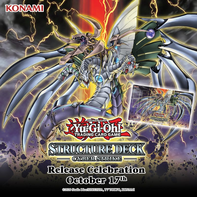 It's Day 2 of the Structure Deck: Cyber Strike Release Celebration! Buy a copy o...