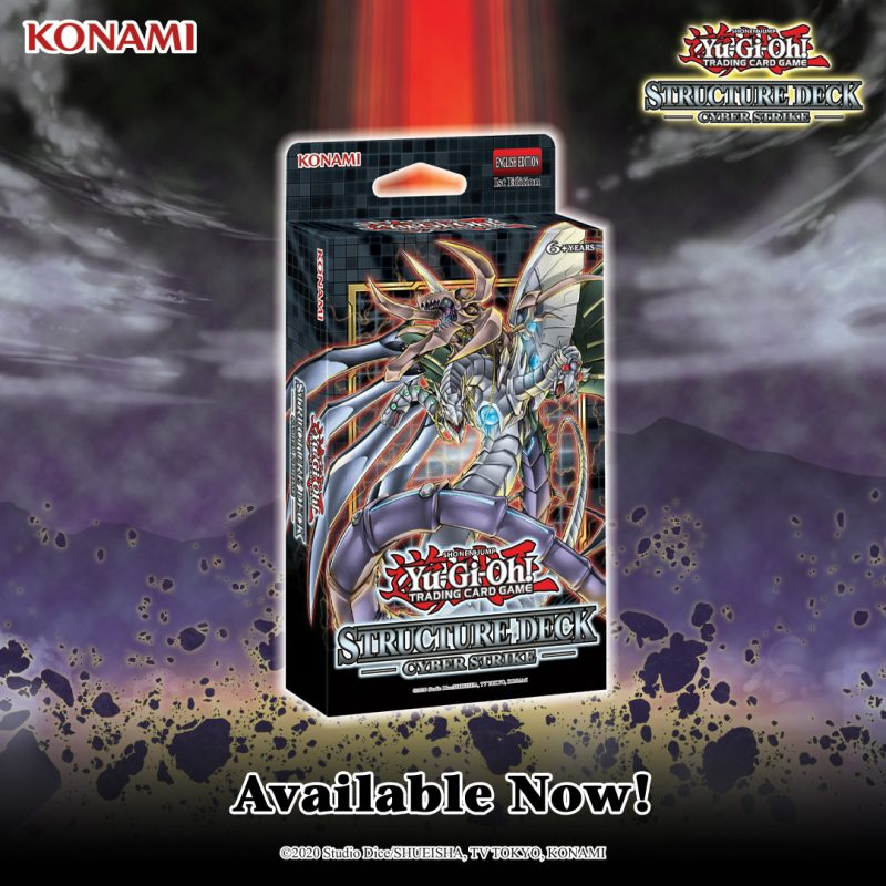 Structure Deck: Cyber Strike is now available everywhere featuring support for C...